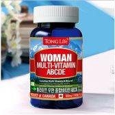 통라이프 우먼 종합 비타민 ABCDE + 미네랄 830mg x 90캡슐