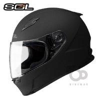 오토바이헬멧 SOL SM-2M 솔리드 풀페이스