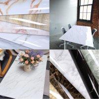 대리석 시트지 인테리어필름지 무광 마블 싱크대 가구 테이블