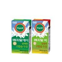 베지밀 A/B 담백한 달콤한 고칼슘두유 190mlx48팩 /인기상품모음전