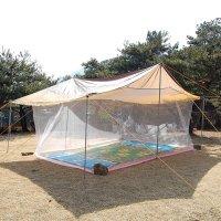 캠핑 야외 대형 모기장