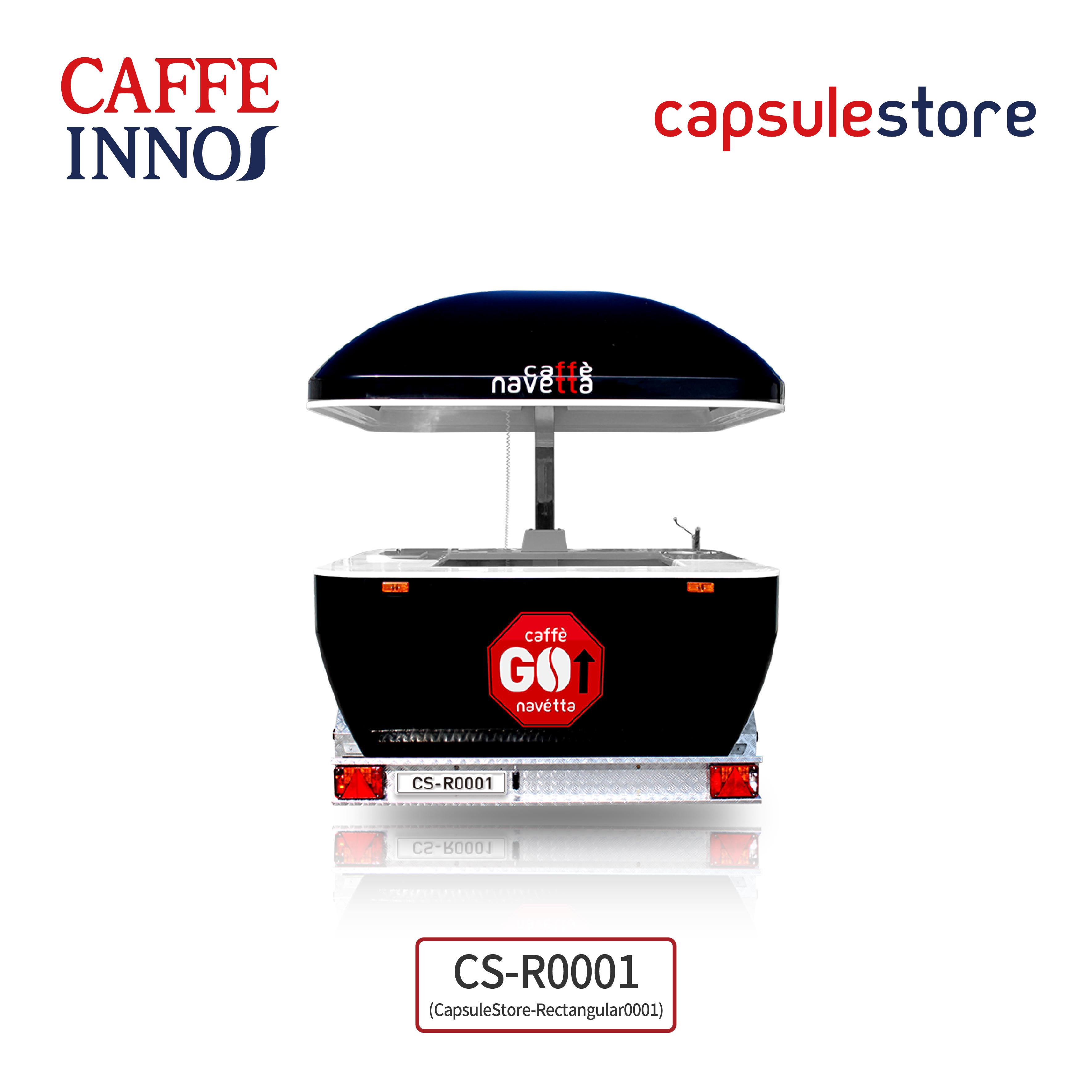 [캡슐스토어] 푸드트럭 푸드트레일러 커피케이터링서비스 커피차 소자본창업아이템 샵인샵 by 카페이노스