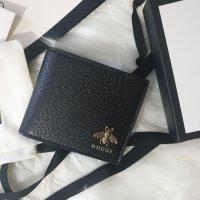 [구찌] 남성 애니멀리어 가죽지갑 Animalier leather wallet Style 523664 DJ20T 1000