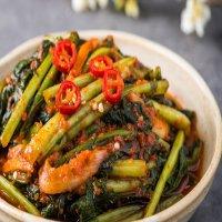맛있는 전라도 국산 생 열무 김치 주문 포장(2kg)