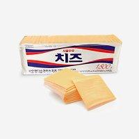 체다 슬라이스 치즈 서울우유 100매 1.8kg