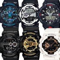 지샥(G-Shock) 손목시계 남성용 전자시계 빅페이스 흑금
