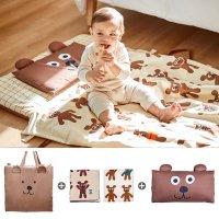 사계절 어린이집 유아용 낮잠이불 가방 세트