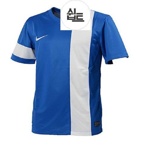 AOQ419819times 사례웨어 L 셔츠 게임 나이키 DRIFIT 블루 520473 국내 화이트 셔츠 (176183cm) T 스트라이커 사이즈 III 일본 NIKE 정품 풋살