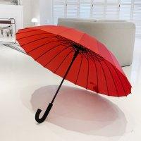 바니브라운 튼튼한 24K 솔리드 곡자 자동 장우산