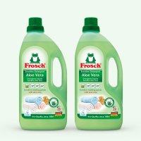 [프로쉬 세탁세제 2개SET] 민감성 피부용 알로에 1.5L X2