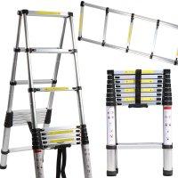 알루미늄 안테나 사다리 1.4M~3.8M 작업용 가정용