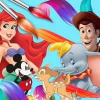 DIY 명화그리기 - 디즈니 캐릭터 그림그리기 아이러브페인팅