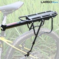 시트포스트 장착형 길이조절 후미등 포함 자전거 짐받이 랙