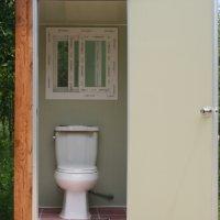 냄새없는 이동형 수세식 화장실