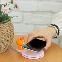 카카오프렌즈 정품 피규어 무선 충전패드
