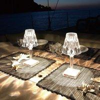 카르텔 Lamp Battery 크리스탈 램프 LED 조명 무드등 소품