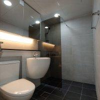 욕실탑 화장실 리모델링 인테리어 공사 시공 브론즈파티션 젠다이 시공세트7