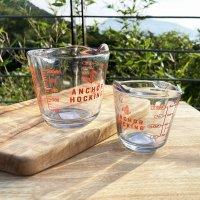 (정식수입)엥커호킹 계량컵 유리 레트로 강화내열유리 비커 커피저그(250ml/500ml)