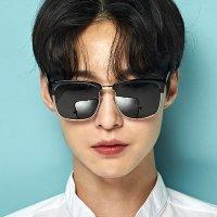 오버사이즈 남자 여자 복고 패션 편광 미러 하금테 선글라스