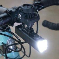 벨로샵 전동킥보드라이트 야간라이딩 로드 자전거 콕핏 마운트 가민 와후 브라이튼
