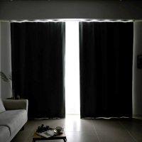 [포그난] 100% 암막커튼 맞춤제작 아파트 거실커텐 작은창 창문 쉬폰커튼