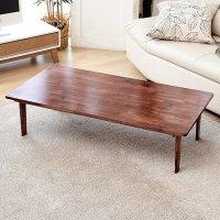 나무앤퍼니 다용도 원목 러버우드(고무나무) 브라운 접이식 테이블 모음