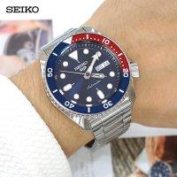 [나토밴드2종+시계공구증정] 세이코 5시리즈 다이버 SRPD53K1 펩시 / SEIKO (삼정시계정품) 백화점AS가능