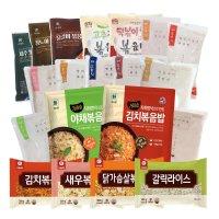 천일 식품 냉동 볶음밥 89종 김치 낙지 새우 야채 햄야채 닭갈비 간편식 엄지 태송