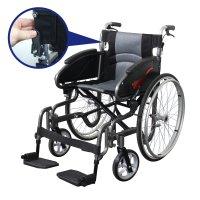 휠체어 수동 장애인 경량 접이식 휴대용