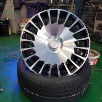 벤츠 신형 마이바흐 20인치 휠 사용중인 휠 타이어 대품가능
