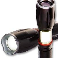 [코만도빔플러스] LED후레쉬 캠핑랜턴 낚시 등산 차량용 작업등 손전등