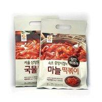 청정원 삼양동식 국물떡볶이 대구 즉석 마늘떡볶이 380g