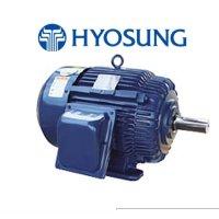 효성모터0.4KW(0.5HP)_4P_220/380V_60HZ_삼상전폐형모터
