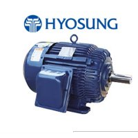 효성모터0.75KW(1HP)_4P_220/380V_60HZ_삼상전폐형모터(프리미엄효율)