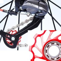 자전거 뒷드레일러 풀리 고속볼베어링 한개, 변속기 튜닝 정비