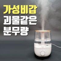 아로마 통세척가습기 간편 세척 편한 청소쉬운 비염 대용량 가습기 피오