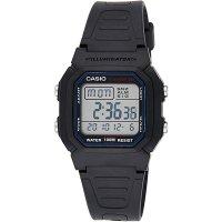 10기압 방수 고급전자시계 -블랙&블루 칼라- 카시오 군대 손목시계 군인 남자친구선물