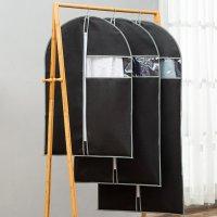 부직포옷커버 코트 정장 수트케이스 옷걸이 행거 옷장 의류 정리 먼지 PVC 투명 비닐