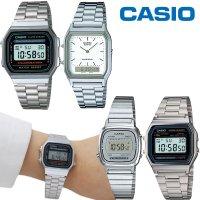 카시오시계 손석희 시계 빈티지 손목 전자 메탈시계