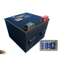 정우 인산철배터리 600A (원통셀) (12.8V ,셀모니터,적산기능 포함)