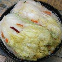 백김치 10kg - 담백하고 깔끔한 중국산 수입 물김치