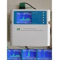 SEM375 MYWATT 전력측정기 (WEB CLOUD 서비스 5년, SD CARD 기능, 7가지 CLAMP 교체 사용 가능)