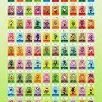 [정품]닌텐도 동물의숲 아미보 카드 주민 1탄 2탄 3탄 4탄 개별구매 튀어나와요 모여봐요 모동숲 튀동숲
