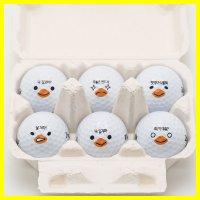 볼빅 계란 골프공선물 6구 맥스롱 2피스 홀인원 기념품 캐릭터볼