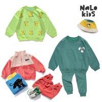 나로아동복 맨투맨세트 어린이집등원룩 아동상하복 코디