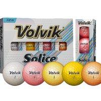 [볼빅]Volvik NEW SOLICE (솔리체) 컬러 골프공 [3피스][1더즌 12알][3PCS]