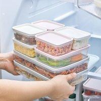씨밀렉스 NEW 납소 냉장고정리용기 밀폐용기 정리트레이 낱개세트