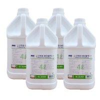 그린제약 소독용에탄올 알콜 83% 4L×4개