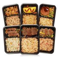 혼밥의고수 맛있는 냉동도시락 6종 12팩 간편 한끼 양많은 남자 1인 간편식 볶음밥