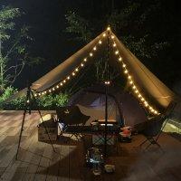 감성 캠핑 LED 차박전구 텐트 타프 전등 무드등 캠핑용 실내 불멍 앵두 조명